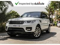 Land Rover Range Rover Sport 2016 AED2913/month | 2016 Land Rover Range Rover S...