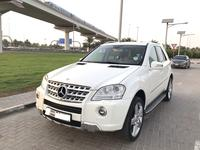 مرسيدس بنز الفئة-M 2011 GCC 2011 Mercedes Benz ML350 AMG KIT!!