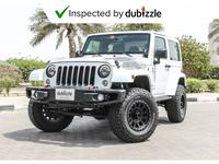 Jeep Wrangler 2017 AED1557/month | 2017 Jeep Wrangler Night Eagl...