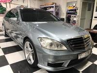 مرسيدس بنز الفئة-S 2007 Mercedes S550 2007  32000AED upgraded to S63 ...