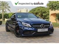 Mercedes-Benz C-Class 2017 AED4393/month | 2017 Mercedes-Benz C 63 S AMG...