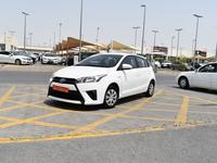 Toyota Yaris 2015 Toyota Yaris HatchBack 2015 White Gcc