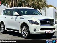 Infiniti QX80 2014 GCC- INFINITI QX80 - 2014 - V8 - EXCELLENT CO...