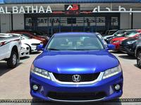 هوندا أكورد 2015 Honda Accord 2015 V6 Blue Full Option Gcc Spe...