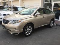 Lexus RX-Series 2012 RX350 2012 GCC  top Options