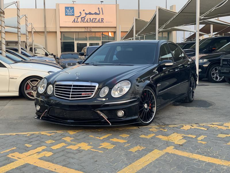 Mercedes Benz E55 AMG 2006 japan full option very good condition