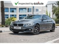 BMW 4-Series 2015 AED1638/month | 2015 BMW 428i Gran Coupe 2.0L...