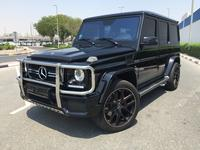 Mercedes-Benz G-Class 2017 Mercedes-Benz G 63 2017 under warranty GCC