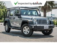 Jeep Wrangler Unlimited 2016 AED1257/month | 2016 Jeep Wrangler Unlimited ...