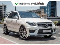 Mercedes-Benz M-Class 2014 AED2818/month | 2014 Mercedes Benz ML63 AMG 5...