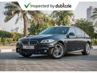 BMW 5-Series 2015 AED1731/month | 2015 BMW 520i M-sport 2.0L | ...
