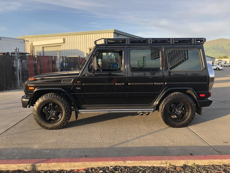 W463 - mercedes G-CLASS W461 - W460 professional Roof rack - made in UAE