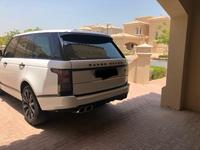 لاند روفر رينج روفر 2014 Range Rover 2014 W/ SVO Kit Black/White trim