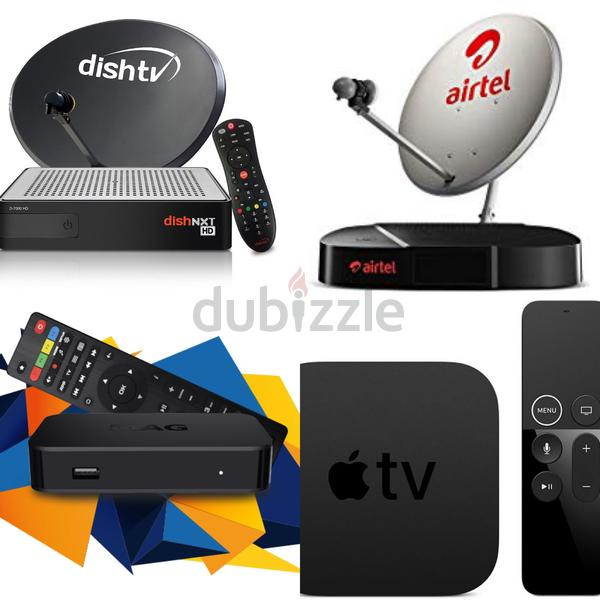 All kind of dish tv and internet tv whole world channels