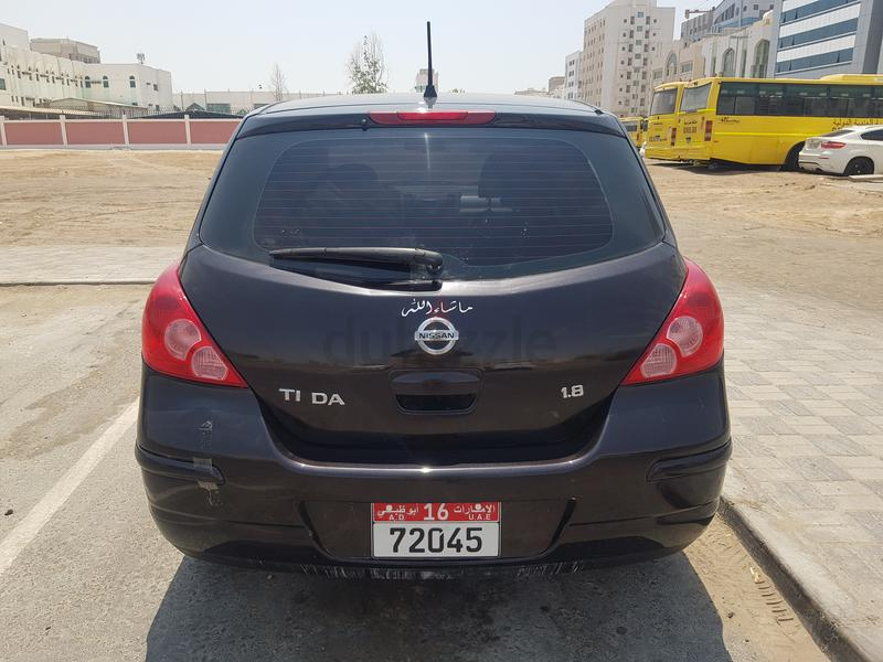 Nissan tiida 1 8 model 2012 free accident good condition one year insurance  mulkia also