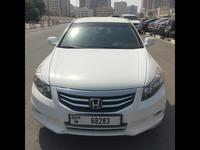 هوندا أكورد 2012 Honda accord 2012 GCC white color very good c...
