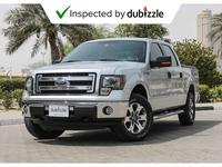 Ford F-Series Pickup 2014 AED1448/month | 2014 Ford F150 Xlt 5.0L | Ful...