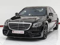 مرسيدس بنز الفئة-S 2018 Mercedes benz S 560 2018 Black-Black | Warran...
