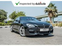 BMW 6-Series 2014 AED2079/month | 2014 BMW 640i Gran Coupe 3.0L...