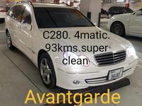 مرسيدس بنز الفئة-C 2007 Avantgarde C 280. 4 Matic. 93000 kms like new...