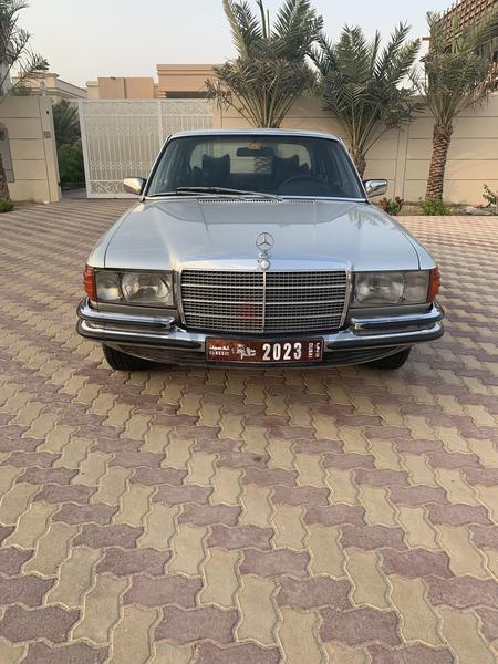 Classic Mercedes With Plate Number
