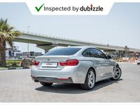 BMW 4-Series 2017 AED1867/month | 2017 BMW 420i Gran Coupe 2.0L...