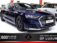 AUDI (2019) A8L WITH SPORT KIT UNDE...