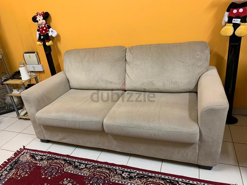 promo code 8fd0d 6d72b Pan emirates sofa bed with home box coffee table!!!