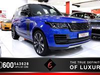 Land Rover Range Rover 2019 BRAND NEW 2019 RANGE ROVER SV AUTOBIOGRAPHY W...