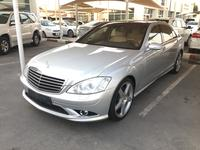 مرسيدس بنز الفئة-S 2009 S500L AMG 2009 GCC / top options / only 129,0...