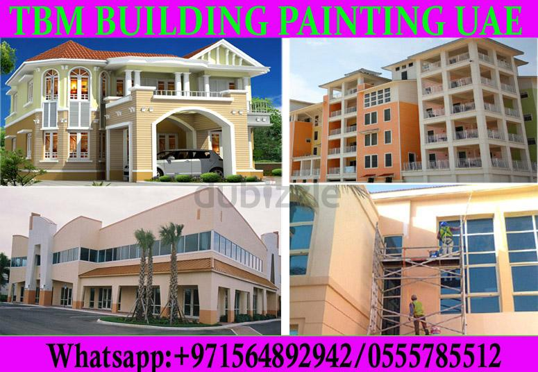 Building Painting Services in dubai ajman sharjah