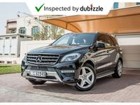 مرسيدس بنز الفئة-M 2013 AED1638/month | 2013 Mercedes-Benz ML350 4Mat...