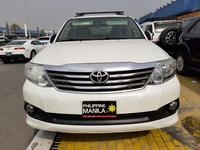 تويوتا فورتنر 2013 TOYOTA FORTUNER SR5 2013 WHITE - GCC SPECIFIC...