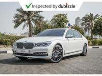 BMW 7-Series 2016 AED3838/month | 2016 Bmw 750Li 4.4L | Warrant...