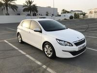 Peugeot 308 2015 New Model White Peugeot 308 - Expat Owner