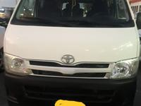 Toyota Hiace 2013 new detailed interior with one year insurance