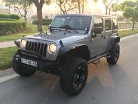 جيب Wrangler Unlimited 2015 UPGRADED Jeep Wrangler Unlimited 2015, Manual...