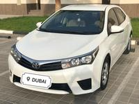 Toyota Corolla 2015 Toyota Corolla 1.6 White Gcc Single owner