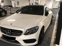 Mercedes-Benz C-Class 2017 C43 Coupe, full options in pristine condition