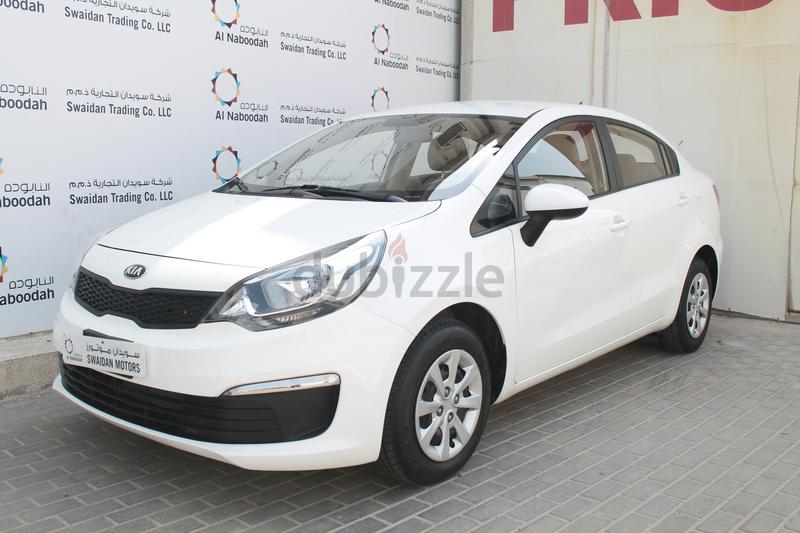 KIA RIO 1 4L EX SEDAN 2017 GCC DEALER WARRANTY