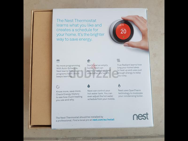 Nest Learning Thermostat 3rd Generation (UK Version)