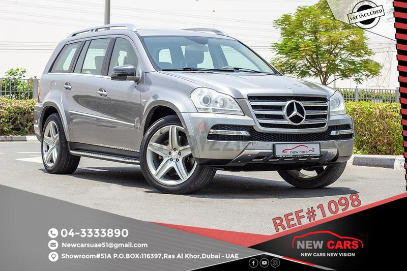 MERCEDES GL 500 - 2011 - GCC - ZERO DOWN PAYMENT - 2140 AED/MONTHLY - 1  YEAR WARRANTY