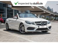 Mercedes-Benz E-Class 2016 AED1883/month | 2016 Mercedes Benz E250 Conve...