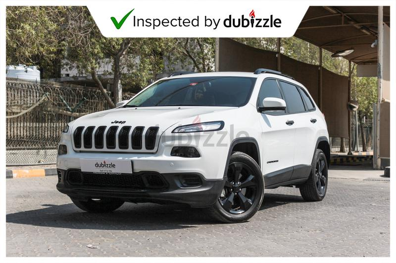 AED1257/month | 2017 Jeep Cherokee 3 2L | Full Jeep history | 1st owner |  GCC specs