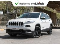 Jeep Cherokee 2017 AED1257/month | 2017 Jeep Cherokee 3.2L | Ful...