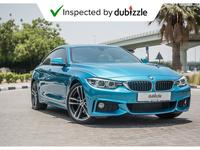 BMW 4-Series 2018 AED2451/month | 2018 BMW 430i Gran Coupe 2.0L...