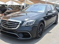 مرسيدس بنز الفئة-S 2015 S-550 2015 KIT S-63 2019 MAGNETIC BLACK  / CL...
