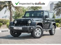 Jeep Wrangler 2014 AED1144/month | 2014 Jeep Wrangler Sport 3.6L...