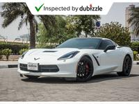Chevrolet Corvette 2016 AED3075/month | 2016 Chevrolet Corvette Sting...