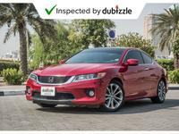 Honda Accord 2015 AED1030/month | 2015 Honda Accord EX 3.5L | W...